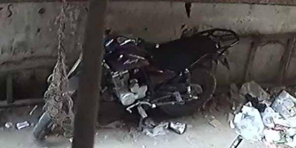 بالفيديو : سرقة جديدة للموتوسيكلات بدار السلام