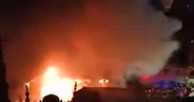 Photo of حريق بمستشفى دار الشفاء في العباسية