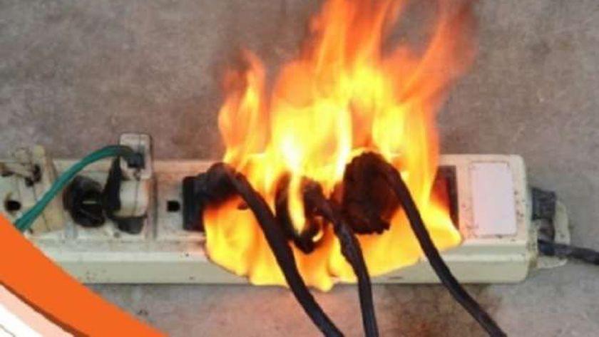 حريق الماس الكهربائي