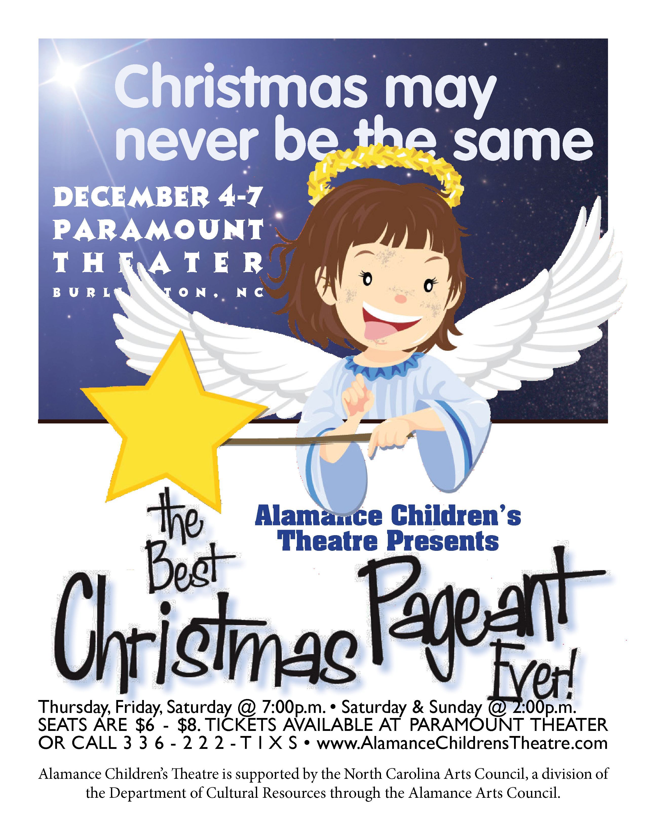 The Best Christmas Pageant Ever December