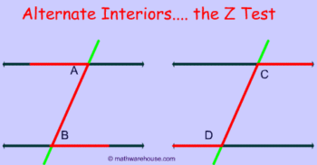corresponding alternate and cointerior angles 7