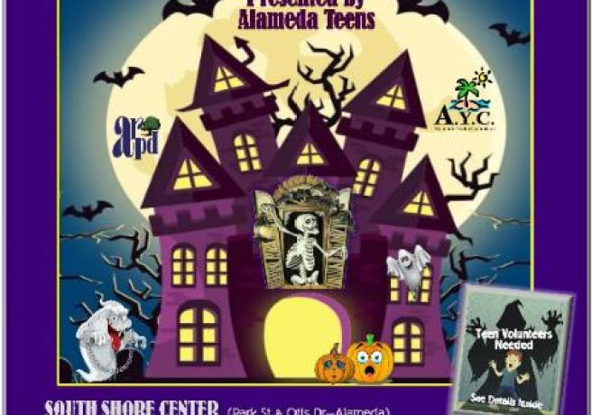 2019 Teen Haunted House Event