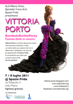 Vittoria Porto Fashion Dolls in mostra