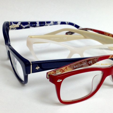 Ray Ban, Tory Burch, Kate Spade Eyeglasses 2