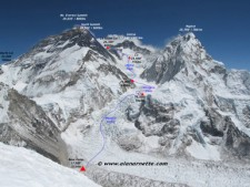 South Col Route