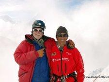 Alan and Kami on Lobuche summit