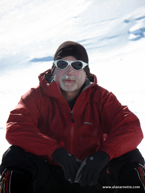 Alan Arnette on Vinson