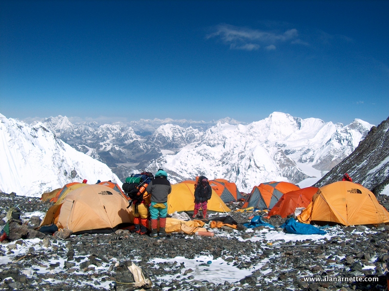 Everest South Col 2003