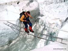 Everest 2018: Into the Icefall