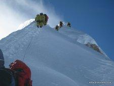 Autumn Himalayan Climbing: Manaslu Summit Rush, Dhaulagiri Stalled