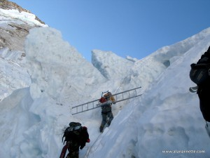Icefall Doctors on Everest
