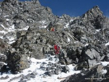 Downclimbing K2