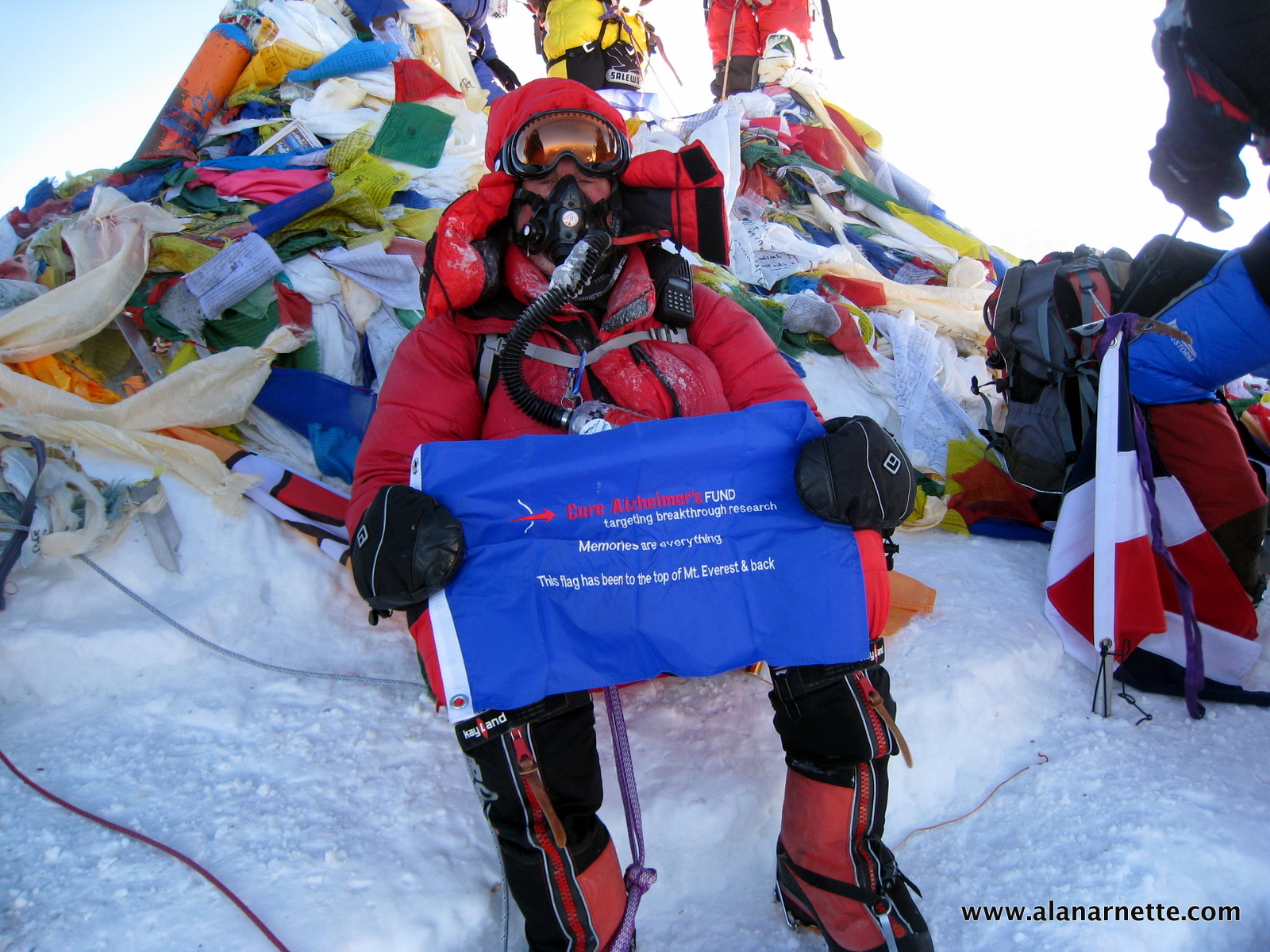 Cure Alzheimer's Fund on Everest