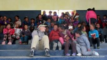 Alan with Khumbu Kids