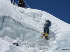 Everest 2015: First Steps in the Icefall