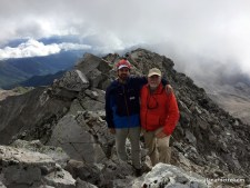 Jim and Alan on the summit