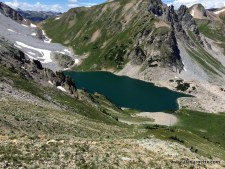 Anothe view of Capitol lake on the descent