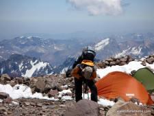 Aconcagua Climber
