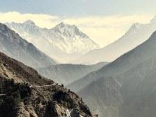 Everest and Lhotse from the Khumbu TrekEverest and Lhotse from the Khumbu Trek