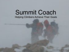 Introducing Summit Coach - Consulting for Aspiring Climbers