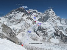 Everest 2017:  Climbing Continues - Updated