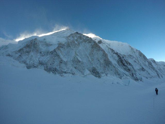 Nuptse North Face. courtesy of Jim Davidson