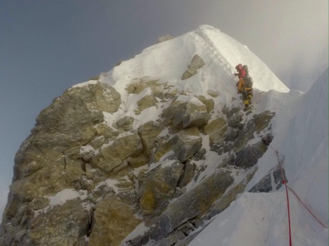 Hillary Step by Tim Mosedale