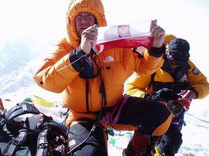Janusz Adamski on Everest 2017