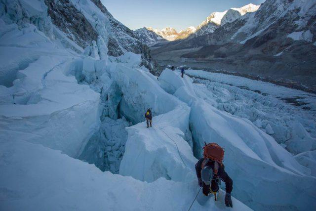 Khumbu Icefall 2017. courtesy of Ben Jones