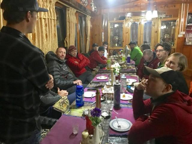 AAI team checked in panorama lodge namche