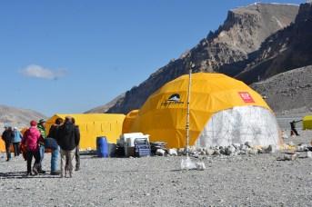 Dome Rec Tent. Courtesy of Kari Kobler