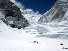 Virtual Everest 2020:  Climbing to Camp 1, and 5 Years Later
