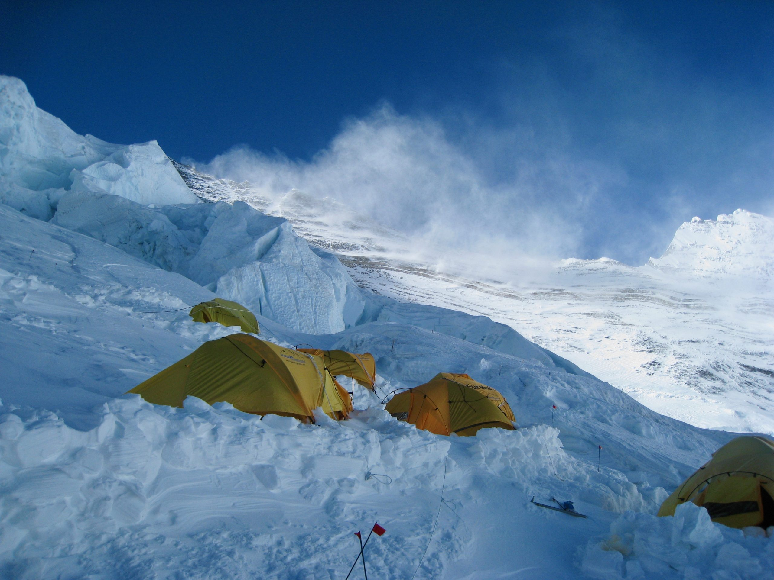 Virtual Everest 2020 A Stormy Lhotse Face The Blog On Alanarnette Com