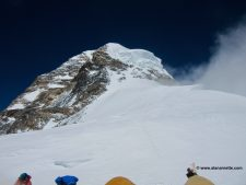 View from Traditional Camp 4 on K2