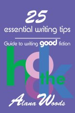 25 tips front Alana Woods Author