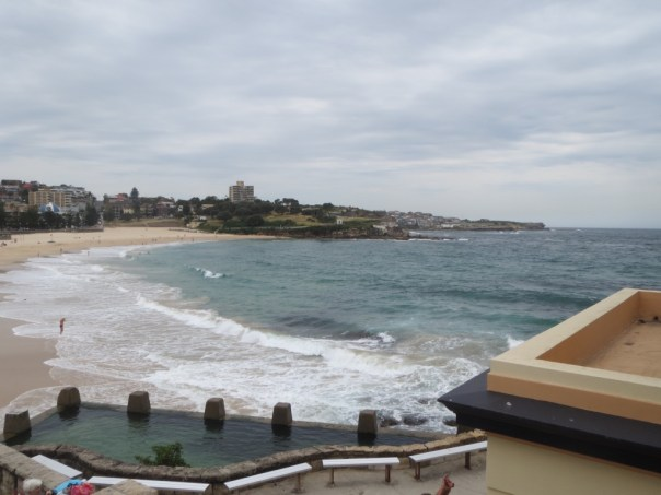 Coogee Beach with baths