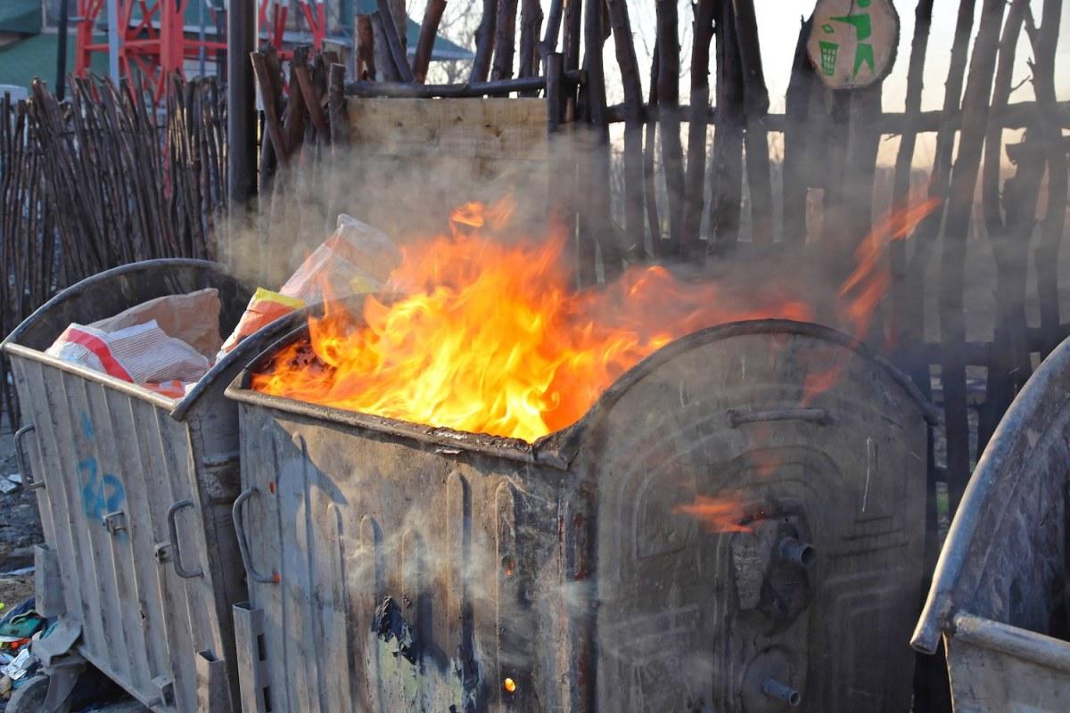 Pyroman gripen i Mariehamn