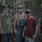 Tre anonyma jordbrukare
