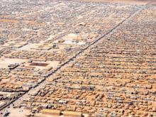 Flyktingläger Jordanien