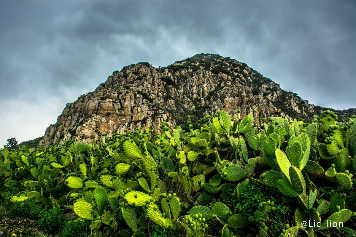 Cerro Chilelete, un bello paraje creado por la naturaleza.
