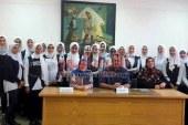 يوم ثقافى متنوع الانشطة لطالبات مدرسة احمد شلباية الثانوية بنات بمكتبة المجاهد حسن طوبار بالدقهلية