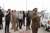 مدير أمن القليوبية في جولة مفاجئة بمدينة القناطر الخيرية