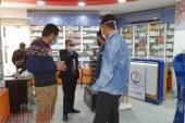 حملة تموينية مكبرة لجهاز حماية المستهلك أسفرت عن ضبط كميات من مستحضرات التجميل غير الصالحة وتحرير 14 محضر مخالفة ببنى سويف