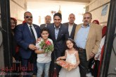 بالزغاريــد…أهالي «الفشن» يستقبلون أحمد أبو هشيمة أثناء إفتتاحه مقر «الشعب الجمهوري»