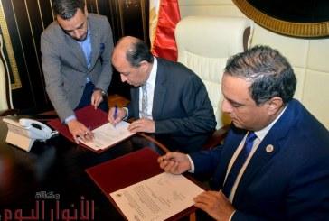 هيئة المطابع الأميرية توقع بروتوكول تعاون مع نادى قضاة مصر لتعزيز أوجه التعاون في مجال نشر الموسوعات القانونية الرقمية