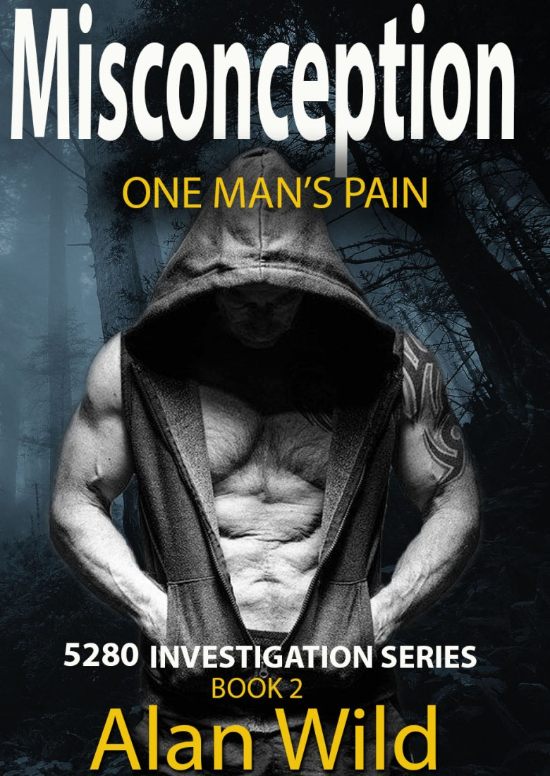 Misconception - One Man's Pain | gay mystery book