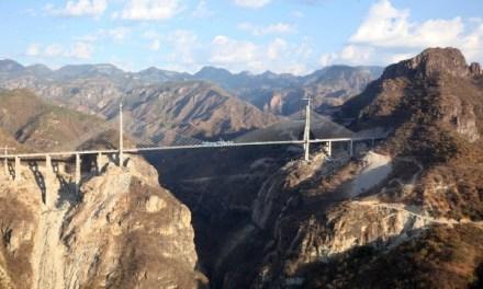 El puente atirantado más alto del mundo