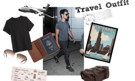 Travel Outfit: Look de Aeropuerto para hombres