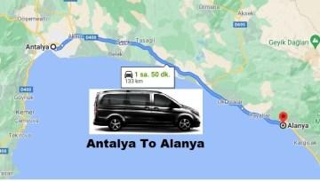 Transportation From Antalya To Alanya