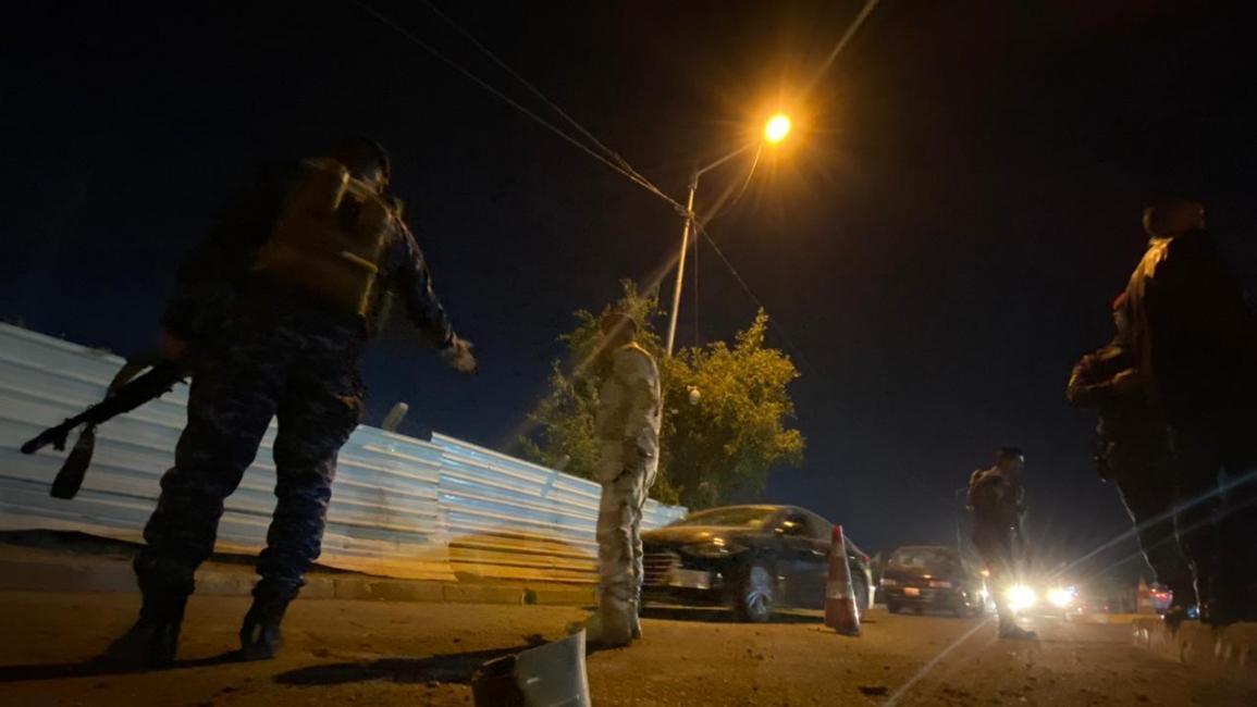 سياسة/صواريخ كاتيوشا في بغداد/(مرتضى السوداني/الأناضول)